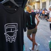 UNIQUE THE BROOMWAGON GIRONA PIAGGO T-SHIRT